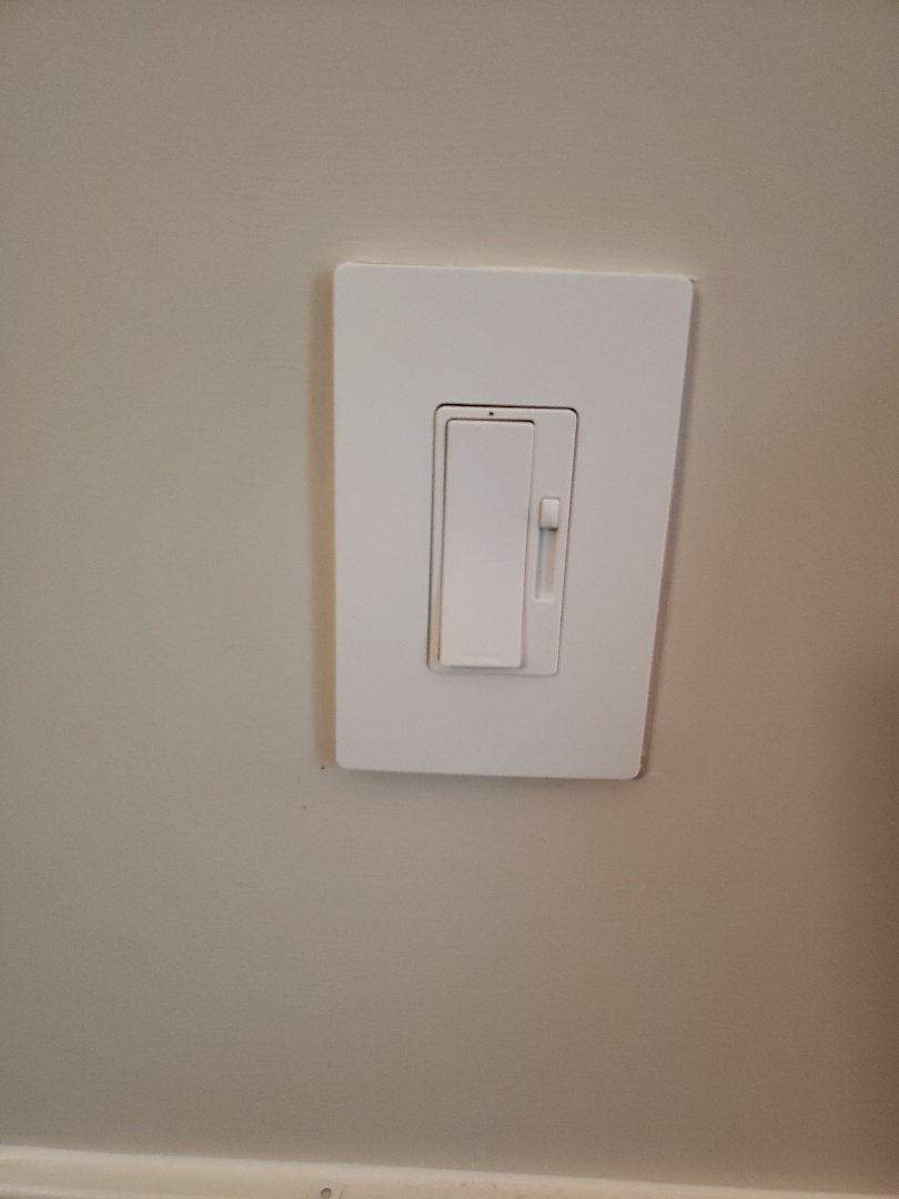 Morrisville, NC - Installed a dimmer