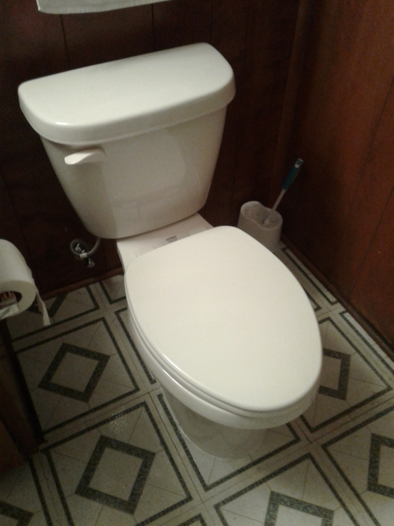 Cedar Hill, TX - Installed new toilet