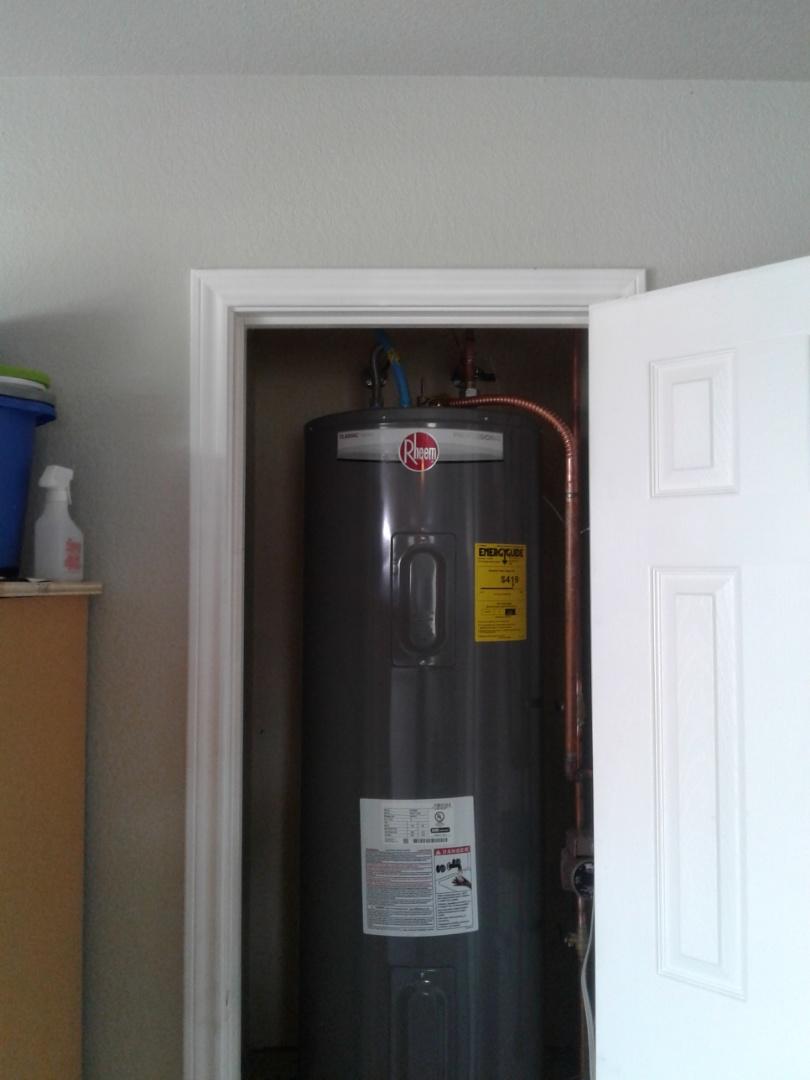 Lancaster, TX - Water heater