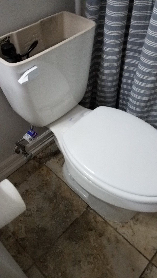 Carrollton, TX - Toilet won't flush