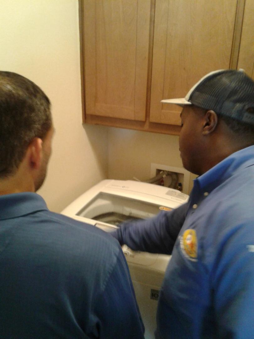 No hot water to washer machine