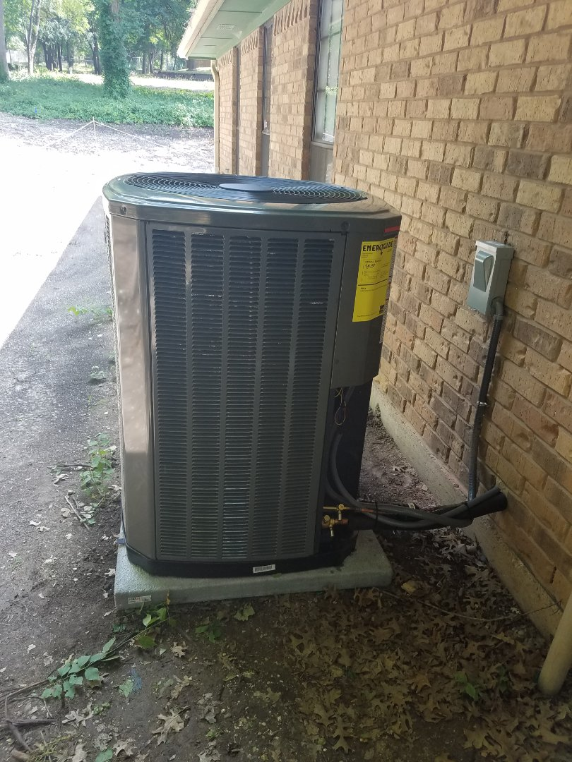 Install new air conditioning system