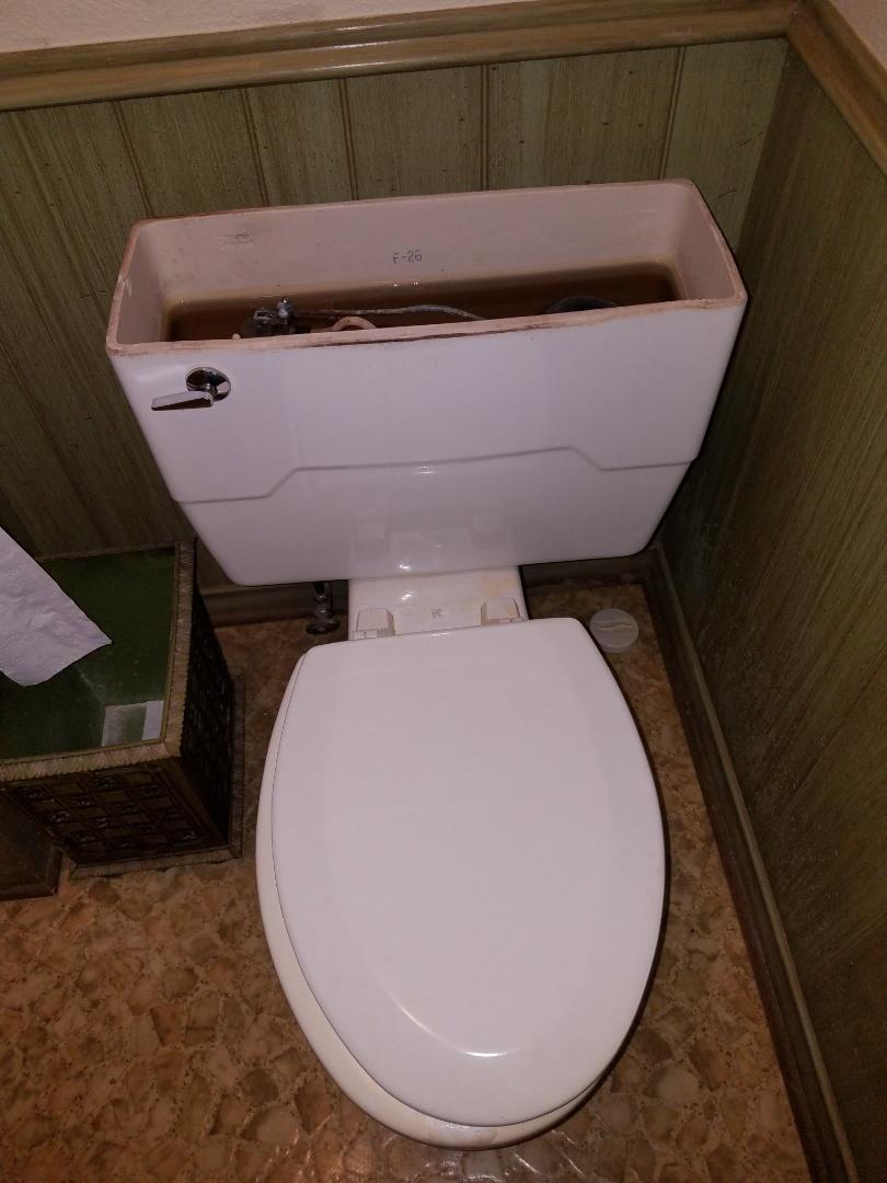 Dallas, TX - Replaced toilet