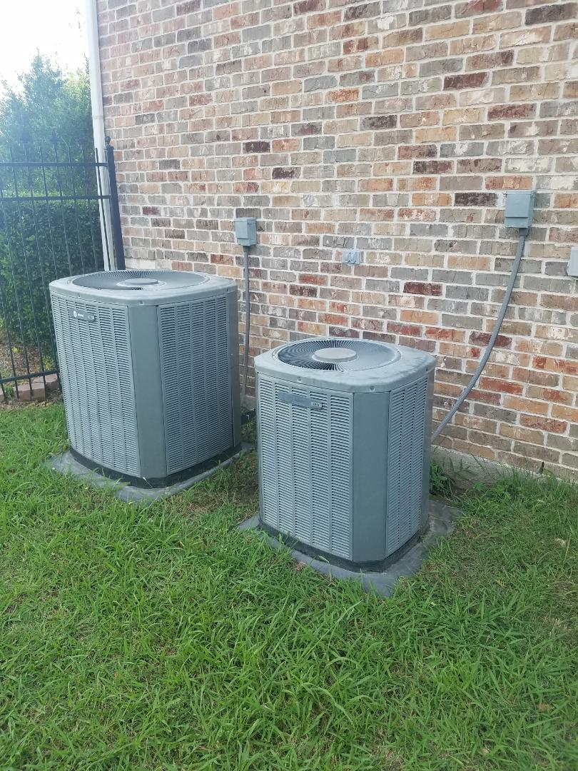 Glenn Heights, TX - AC not cooling, add freon