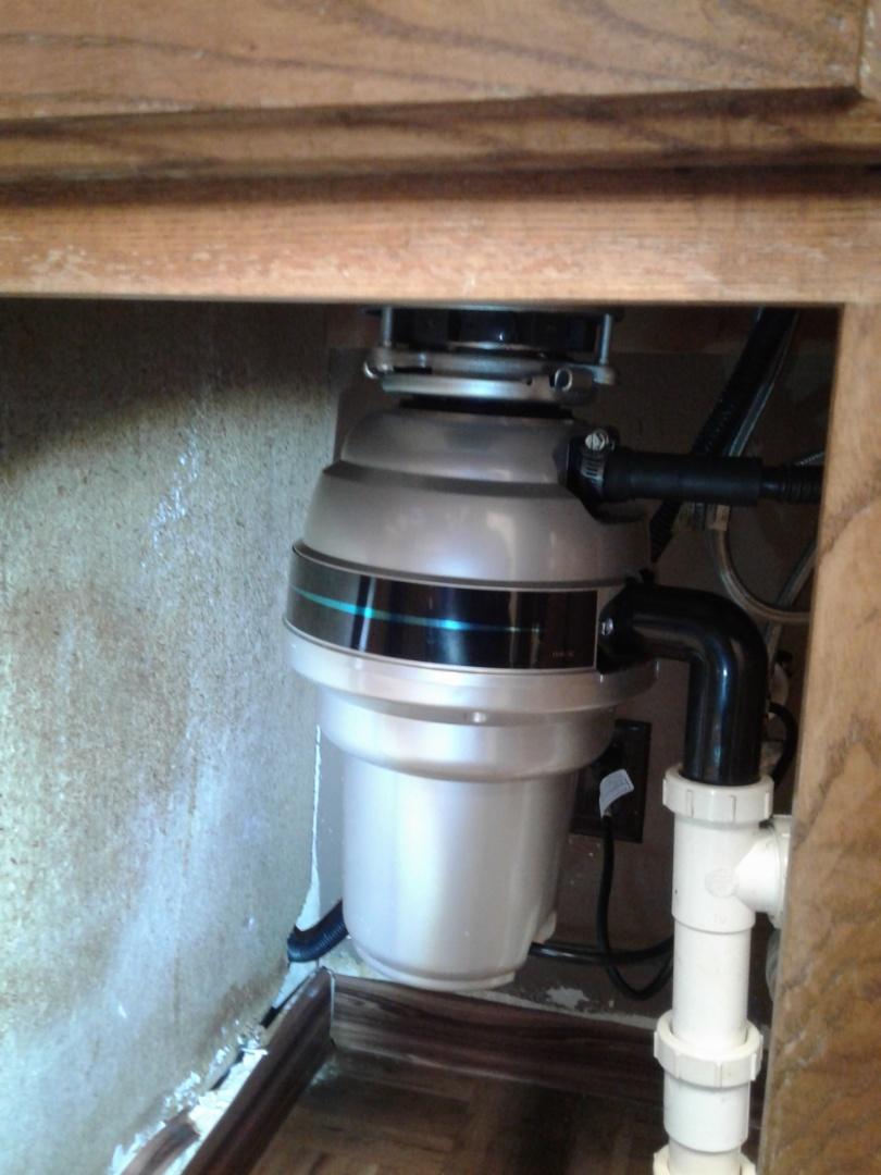 Arlington, TX - Installed customer supplied disposal