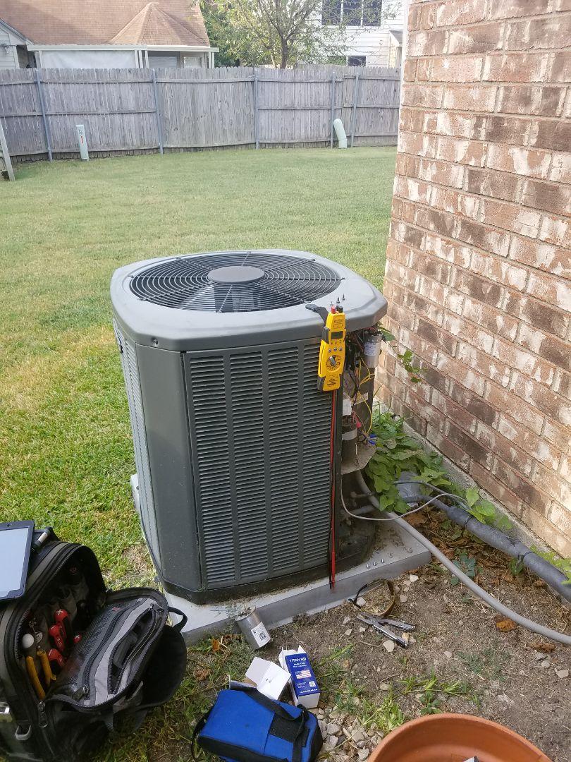 Dallas, TX - Replace compressor