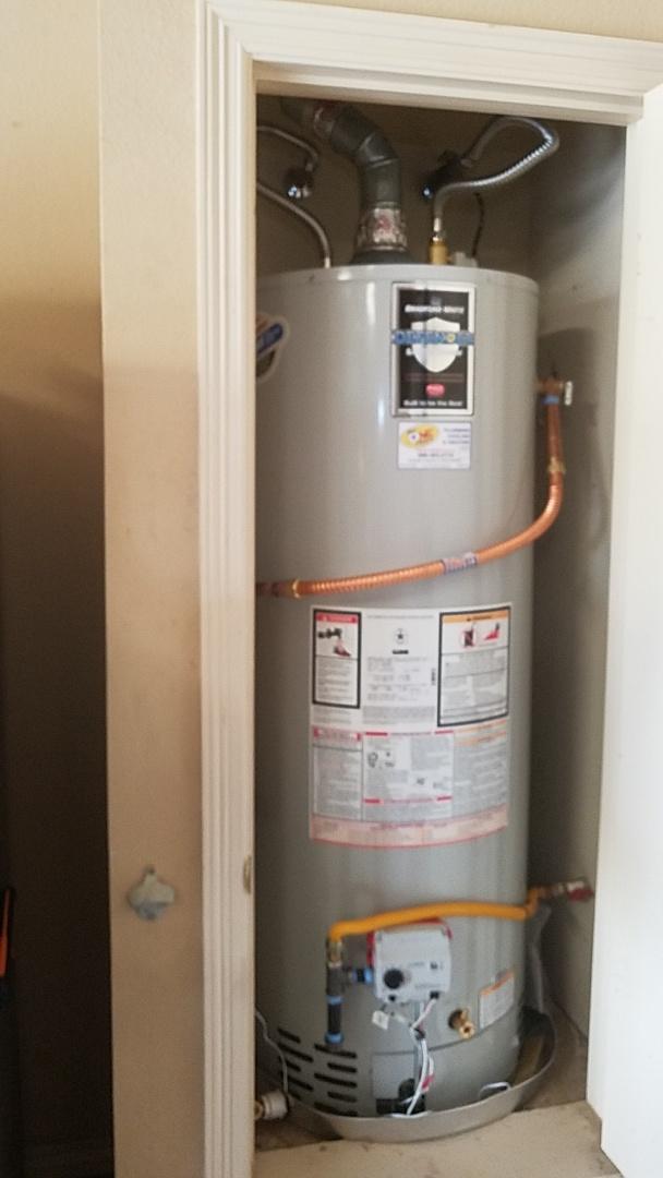 Red Oak, TX - Water heater leaking
