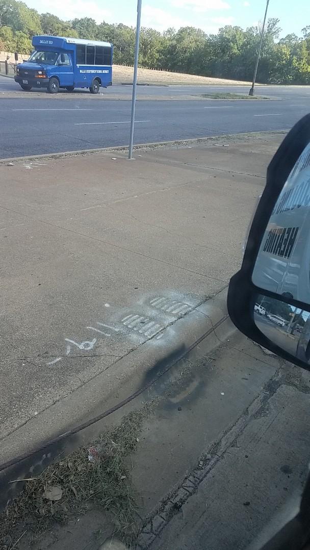 Dallas, TX - Leak below dtive