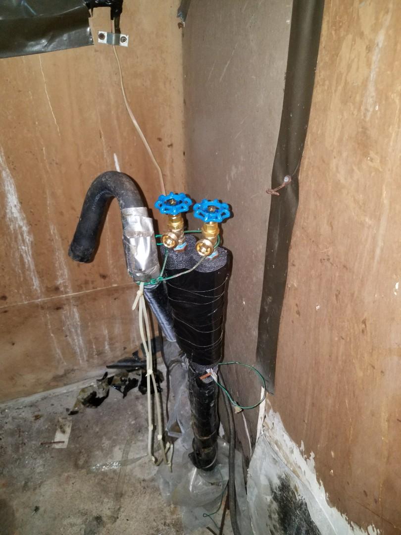 Dallas, TX - Replace washing machine valves
