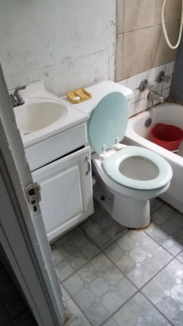 Bathroom faucet leaking