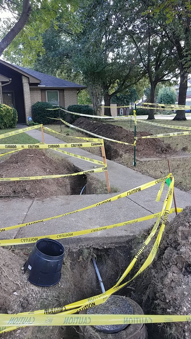 Quest water line replacement