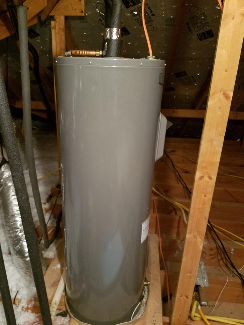 Water heater leaking