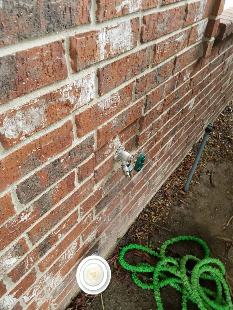 Replace hosebib, repair delta faucet