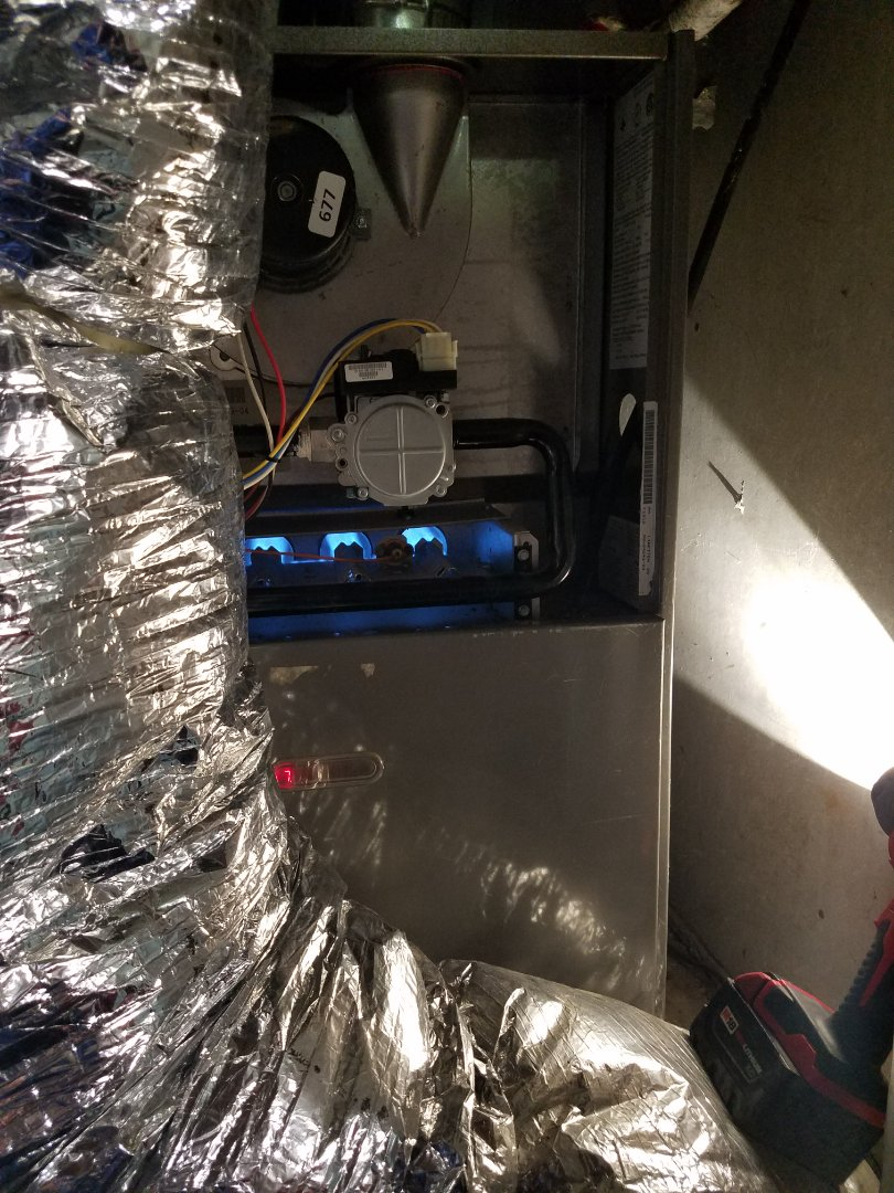 Dallas, TX - Furnace inspection