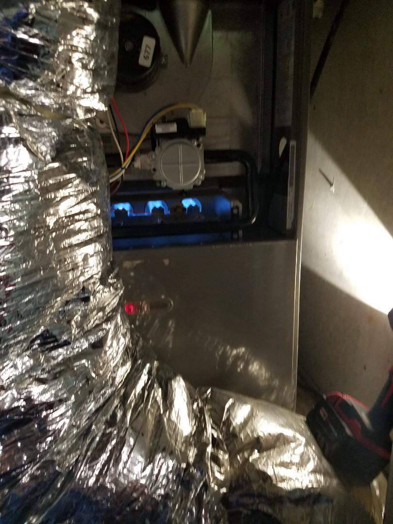 Glenn Heights, TX - Furnace not heating