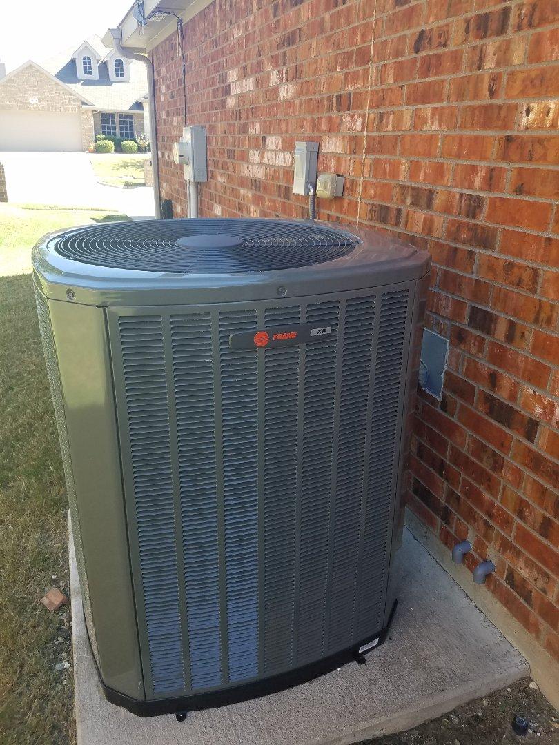 Waxahachie, TX - Heat pump  inspection