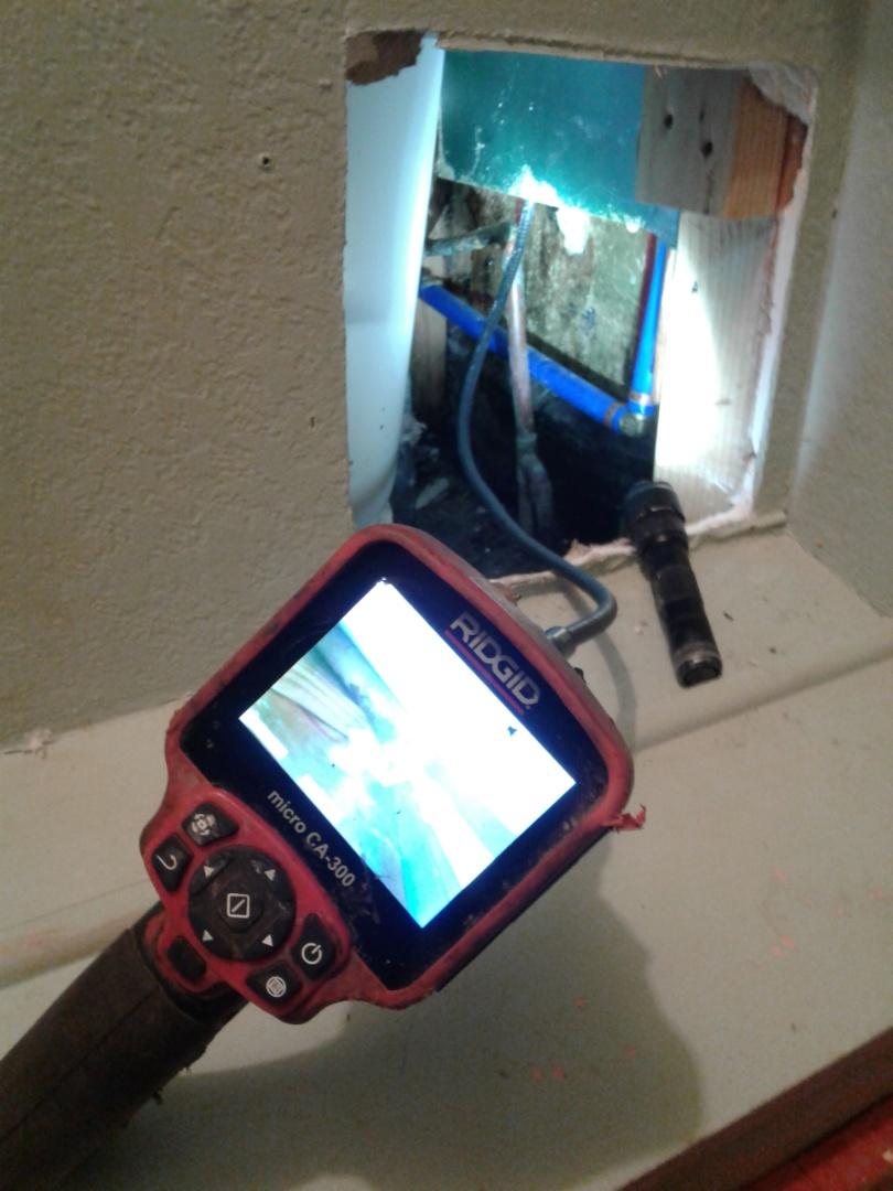 Red Oak, TX - Locate and repair leak in wall