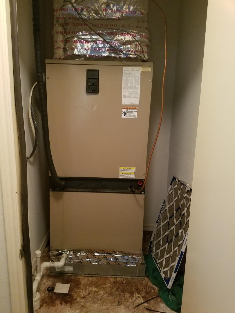 Duncanville, TX - Heating inspection