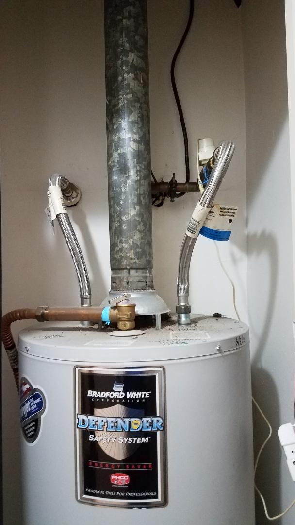 Red Oak, TX - Leaking water heater