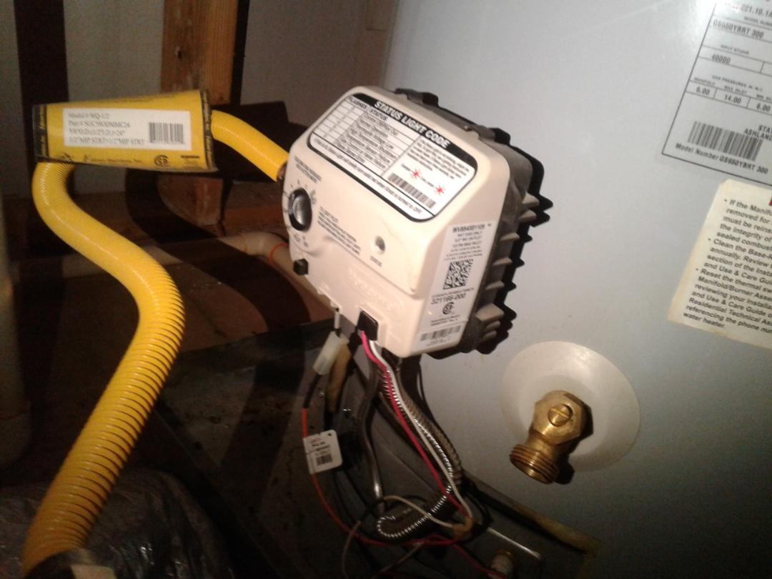 DeSoto, TX - Replaced gas control valve