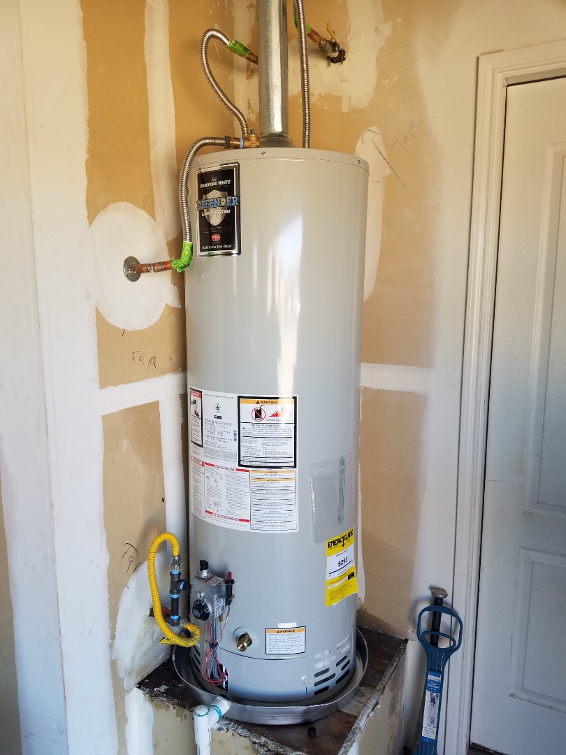DeSoto, TX - Replace water heater