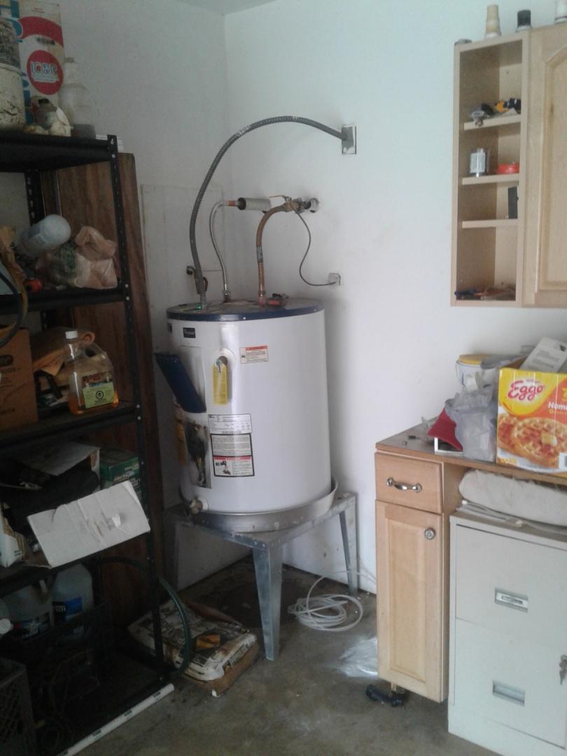 Arlington, TX - Bad water heater