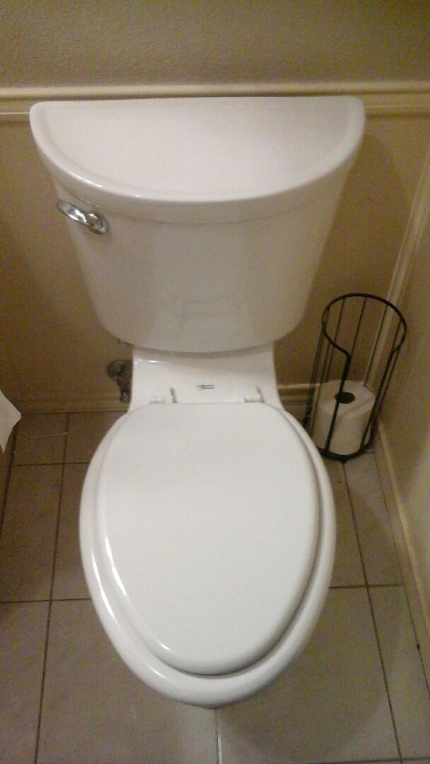 Irving, TX - Toilet install