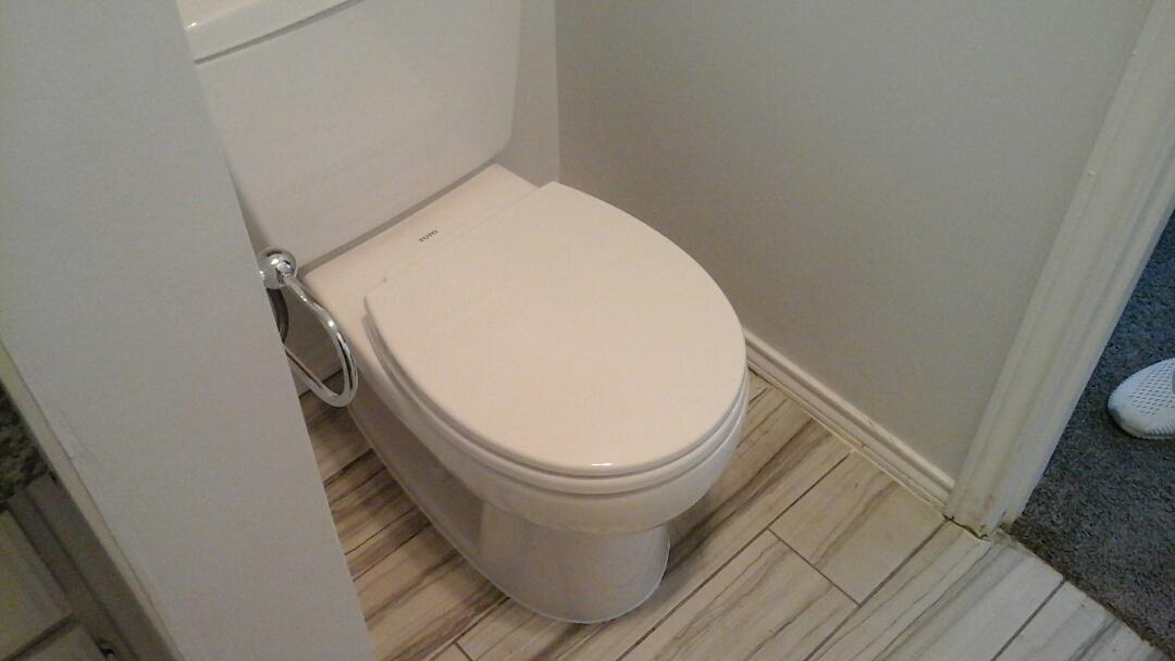Dallas, TX - Install Toto toilet