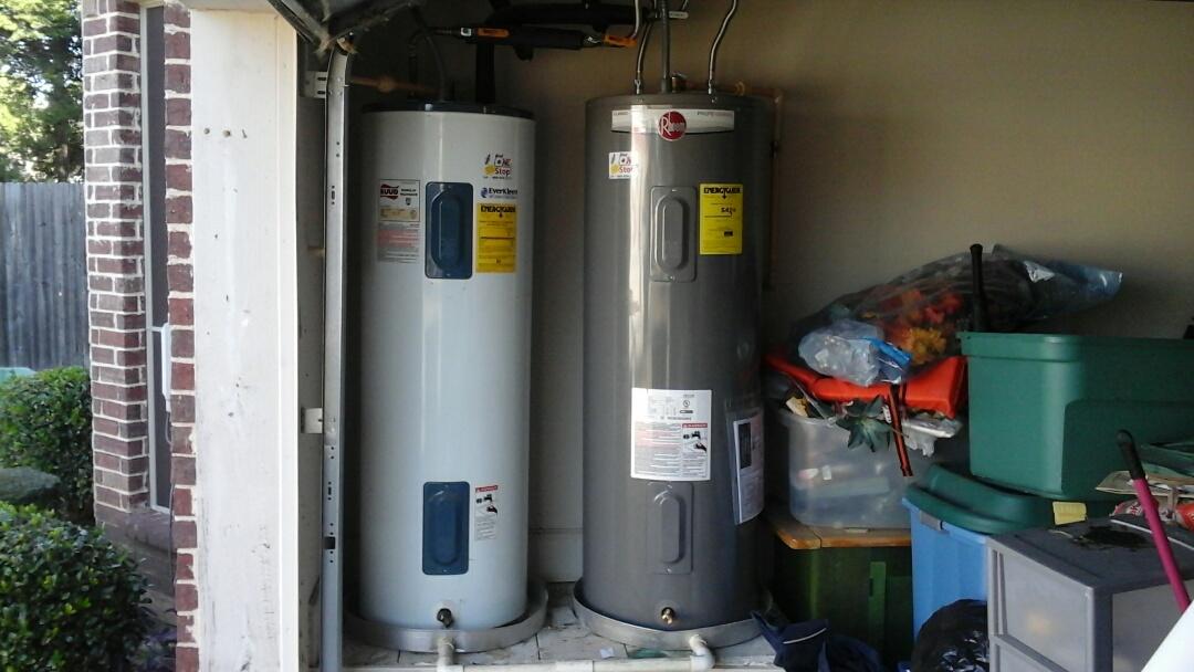 Desoto, TX - Installed new water heater