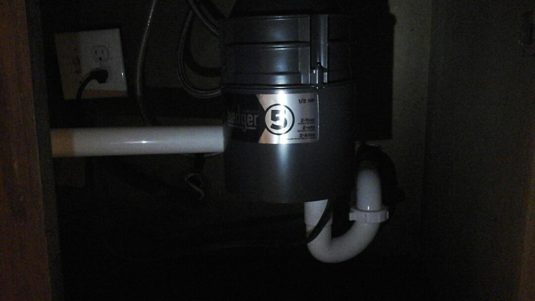 Duncanville, TX - Replace disposal, shower valve, reset toilets