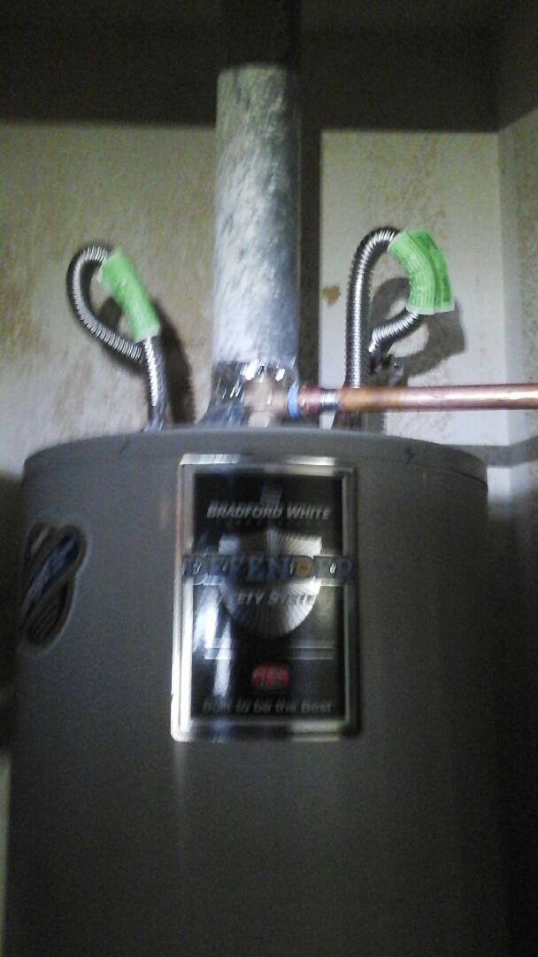 DeSoto, TX - Leaking water heater