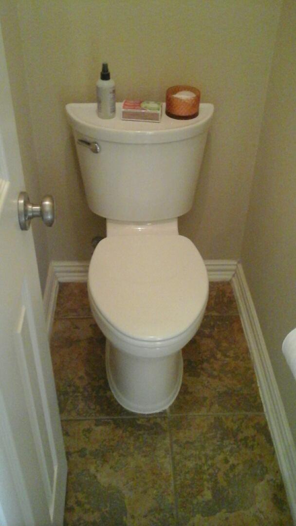 Plano, TX - Toilet install