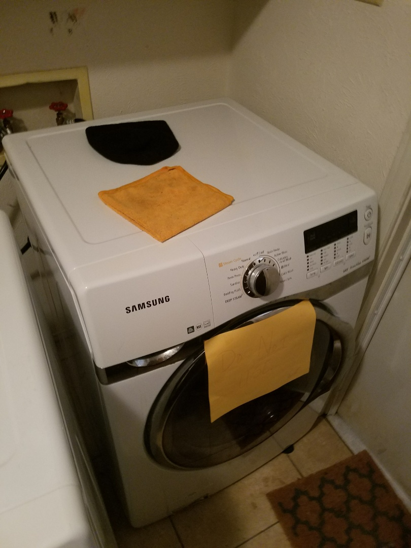 DeSoto, TX - Washing machine stopped up