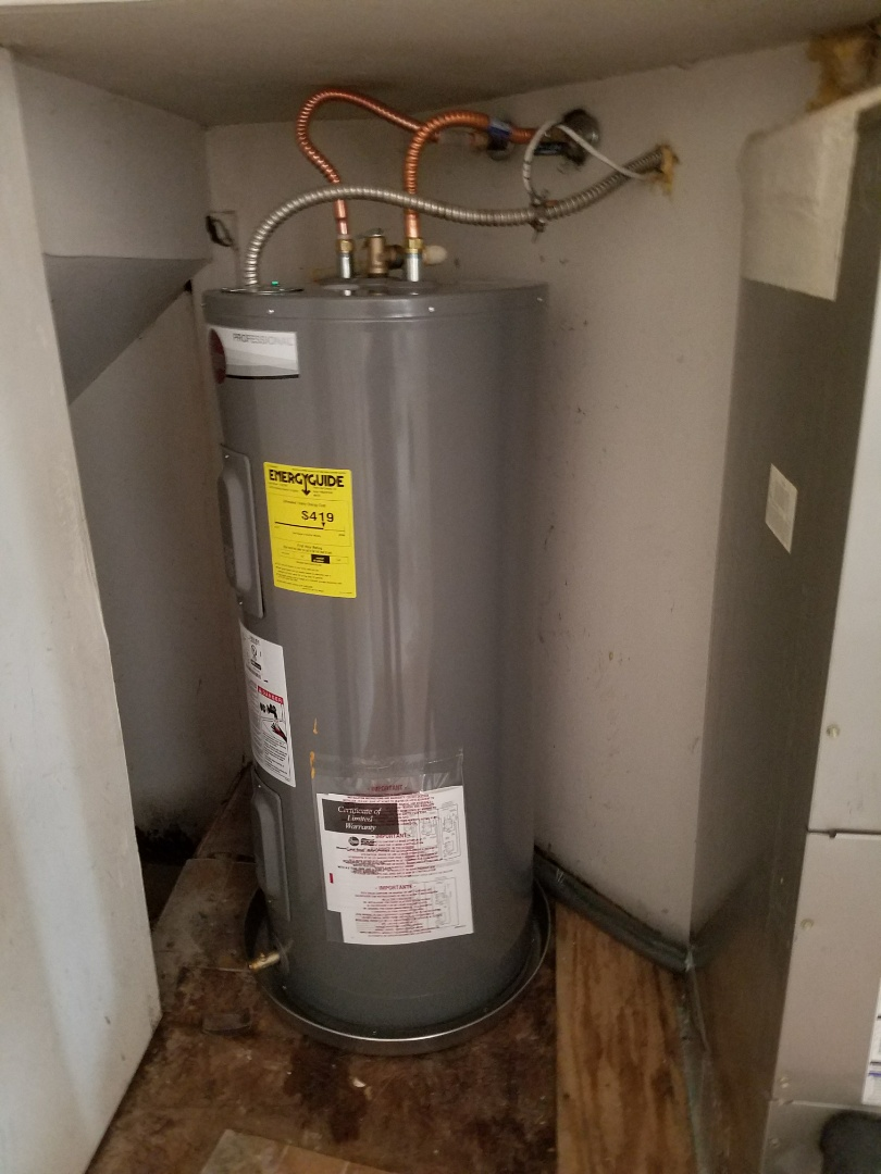 Duncanville, TX - Water heater install