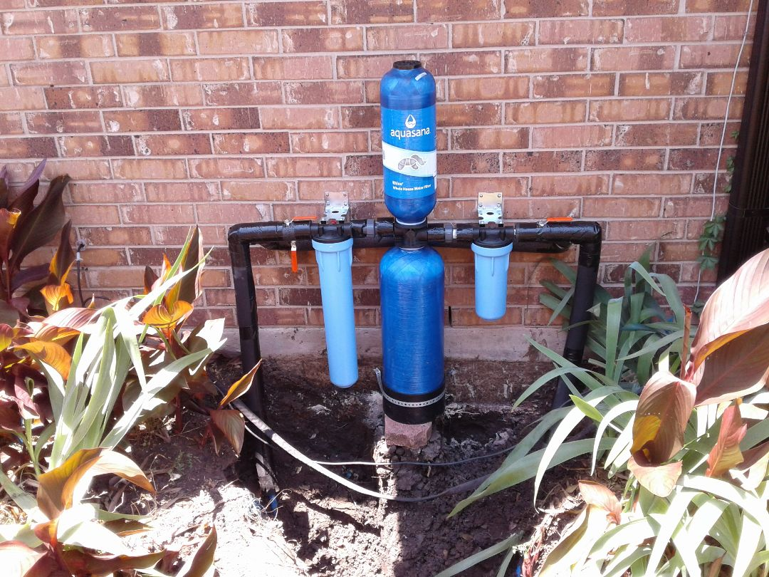 Garland, TX - Water filtration