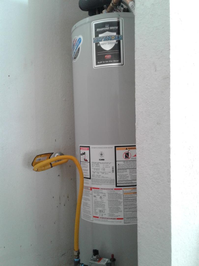 Arlington, TX - Water heater replacement