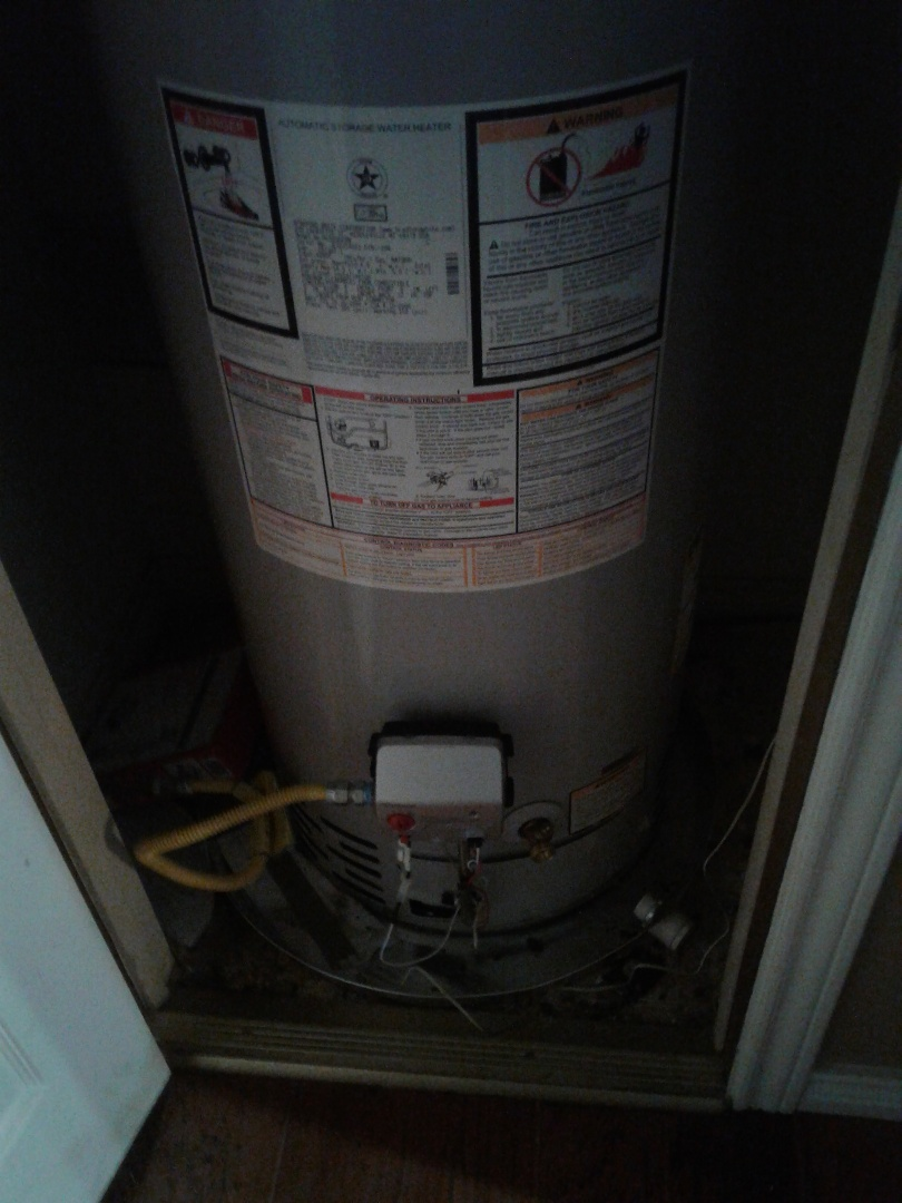Duncanville, TX - Water heater thermostat