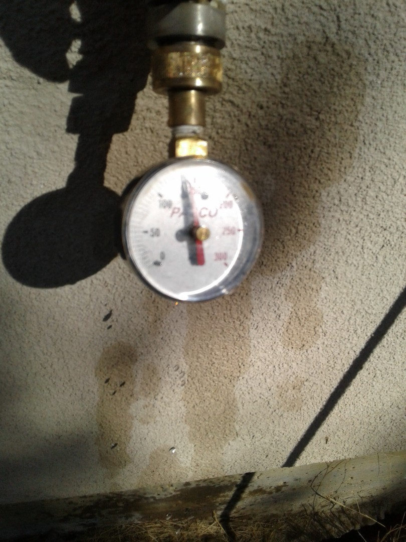 Cedar Hill, TX - Excessive water pressure