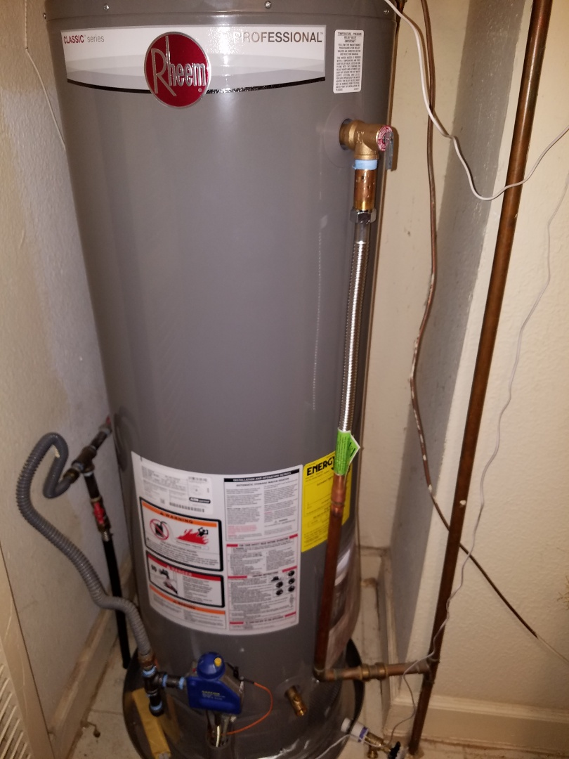 Dallas, TX - Install 2 hot water heaters