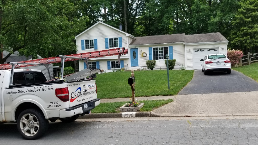 Springfield, VA - Full roof replacement and gutter replacement in Springfield.