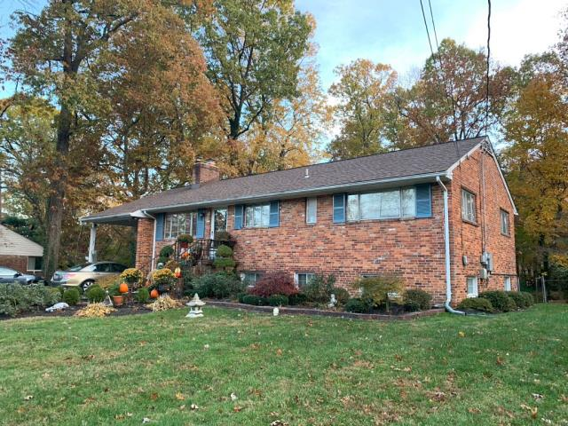 """Annandale, VA - OHI did a fantastic job replacing the existing with new 5"""" gutters, and downspouts to match. The Leaf Relief gutter guards will do a great job keeping all those trees from clogging up the gutters."""