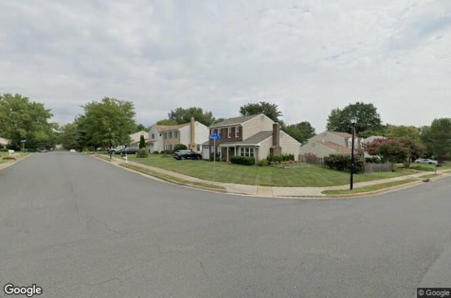 Herndon, VA - We installed an emergency tarp to temporarily stop the leak then performed a roof replacement in Herndon home, which included removing existing shingles and accessories down to the plywood and replacing them with new GAF Royal Sovereign in a weathered gray.