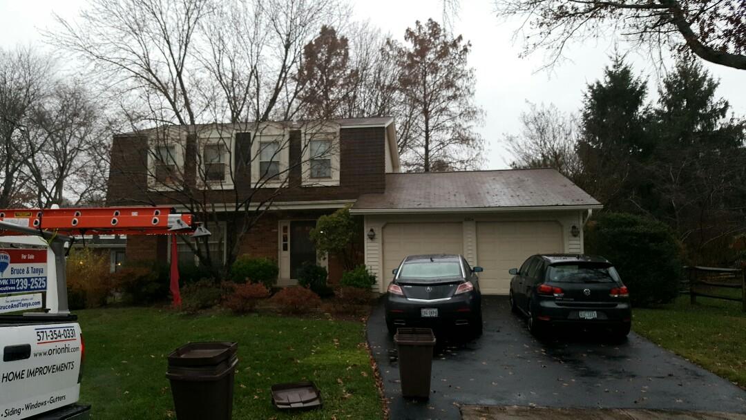 Burke Va Orion Home Improvements Llc Roofing Window