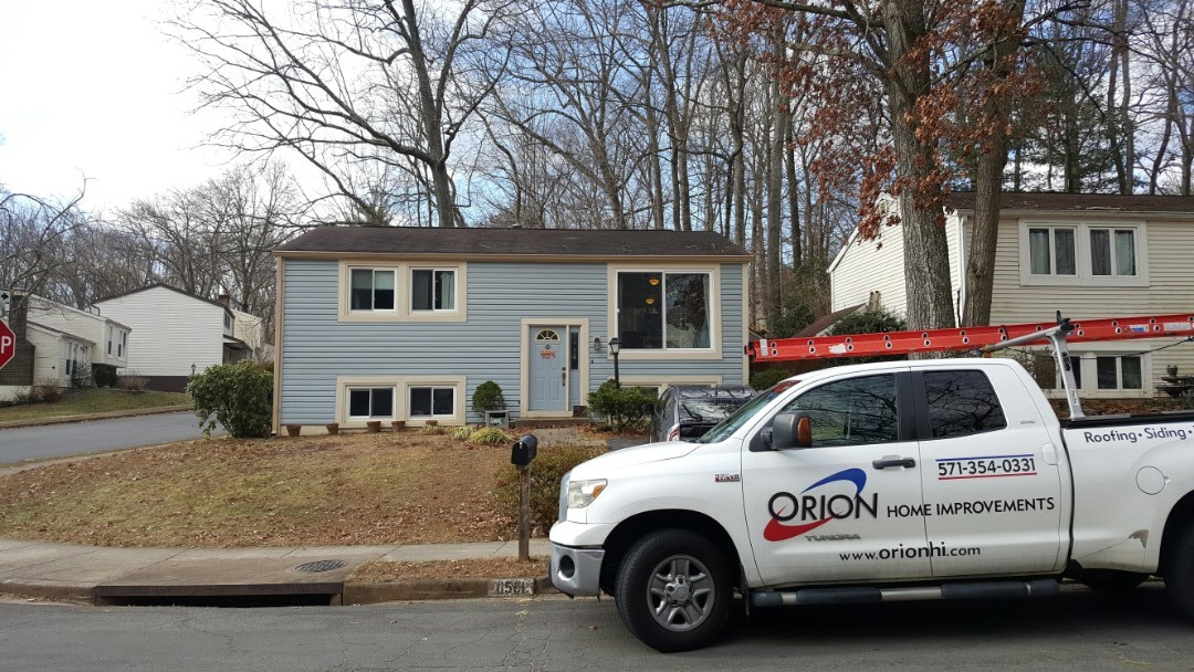 Reston, VA - Full roof replacement in Reston VA.