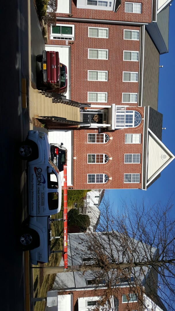 Alexandria, VA - Roof repair in alexandria VA.  Removal of satellite dish on roof. Old dish has caused a roof leak.