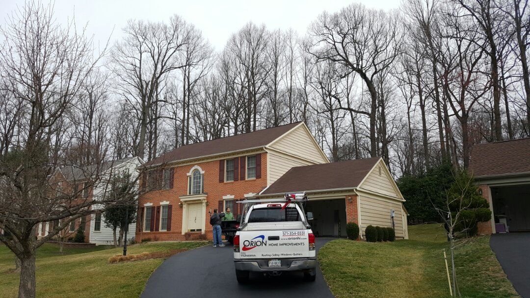 Burke, VA - Full roof replacement in Burke due to wind damage and hail damage   Will assist homeowner with filing an insurance claim.  Will replace roof, possible siding replacement or repair, and possible gutter replacement or repair
