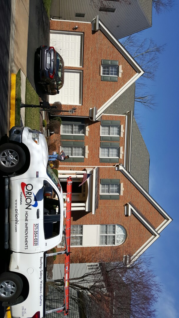 Fairfax, VA - Roof repair, window repair, and interior painting and minor repair in Fairfax, VA