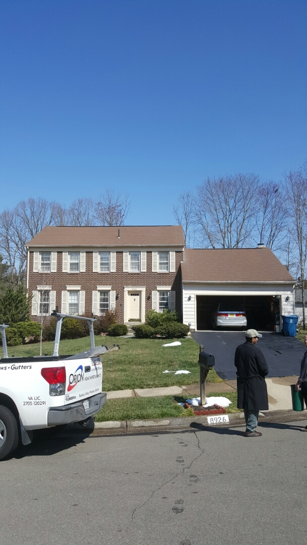 Burke, VA - Roof replacement and siding repair or replacement in Springfield, VA. Will assist homeowner in filing an insurance claim