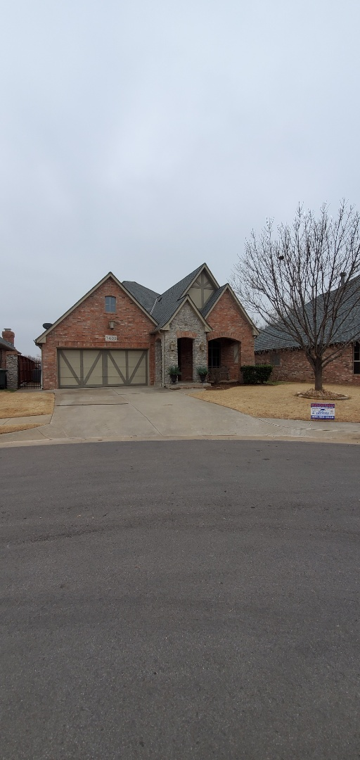 Edmond, OK - Installed GAF roof system after working with homeowner's insurance to identify hail damage.