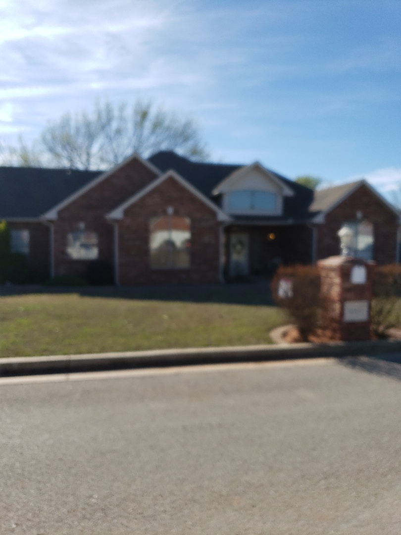 Blanchard, OK - Another pleased customer in blanchard Oklahoma.  Just  finished putting on Timberline HD shingles in weather wood.